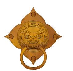 中国古代门环装饰