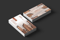 木材企业设计名片