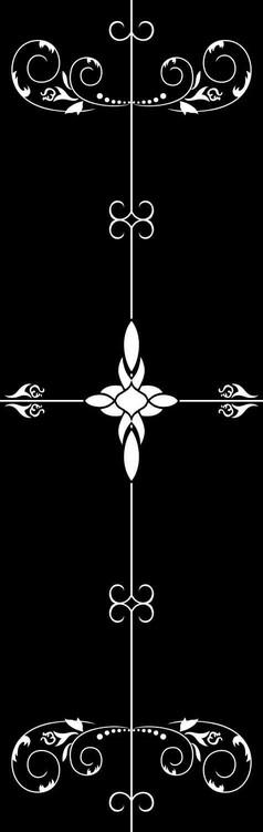 四季花香雕刻图案