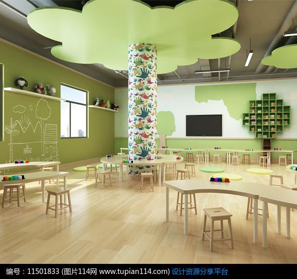 [原创] 森林主题幼儿园效果图