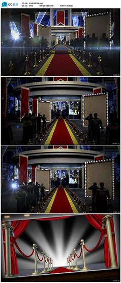 颁奖晚会红地毯片头视频素材