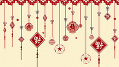 新年中国风背景