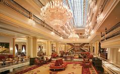 豪华酒店室内大堂设计