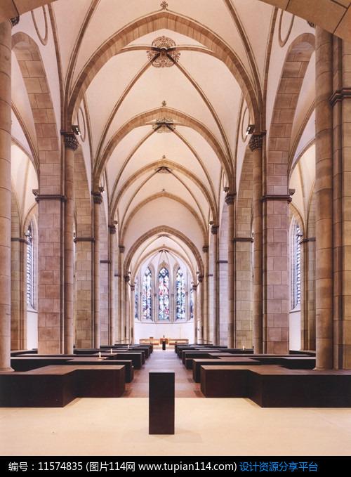 [原创] 圣母教堂室内设计