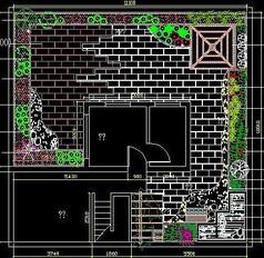 屋顶花园绿化设计图纸