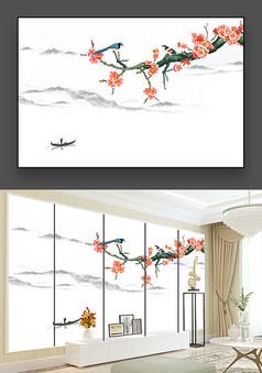 花鸟山水画
