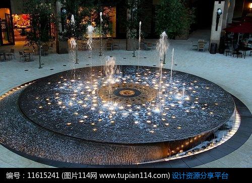 [原创] 水景喷泉设计图片