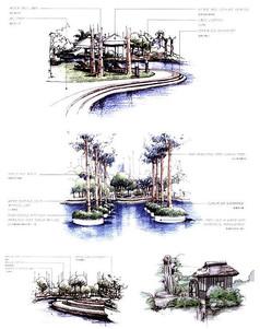 自然风光水景设计