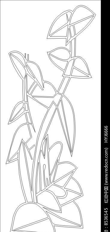 [原创] 风信子雕刻图案