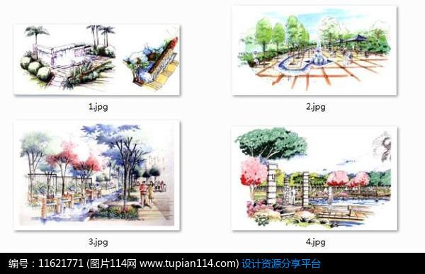 [原创] 水景驳岸设计手绘图