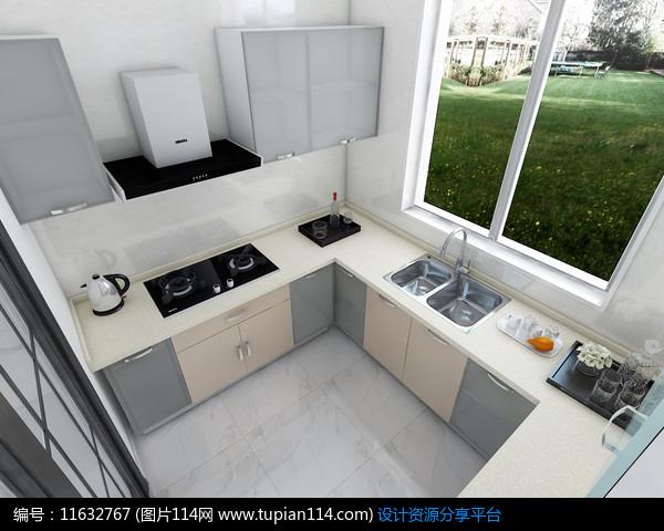 欧派橱柜3d设计图