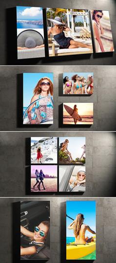 ae时尚写真相册片头模板