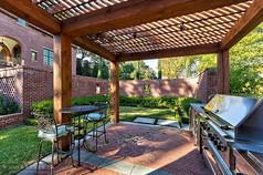 庭院景观廊架