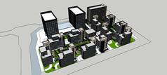 现代产业园规划模型