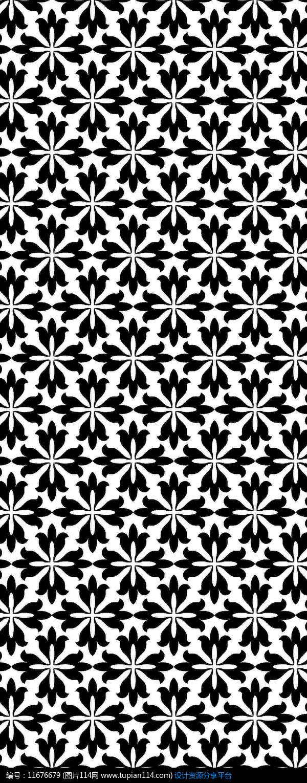 装饰花朵图案设计素材免费下载_雕刻图案cdr_图片114