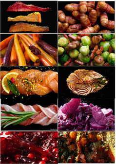 通用美食广告宣传片视频素材