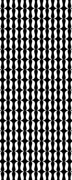 抽象黑白图案