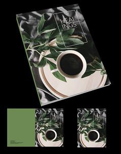 餐具产品画册封面设计