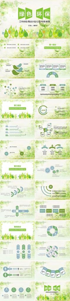 自然保护环境环保PPT