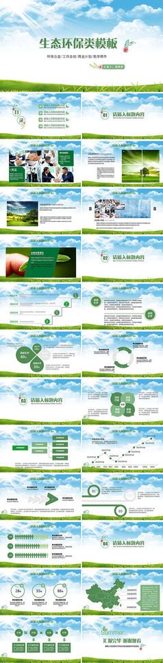 保护环境爱护地球环保PPT