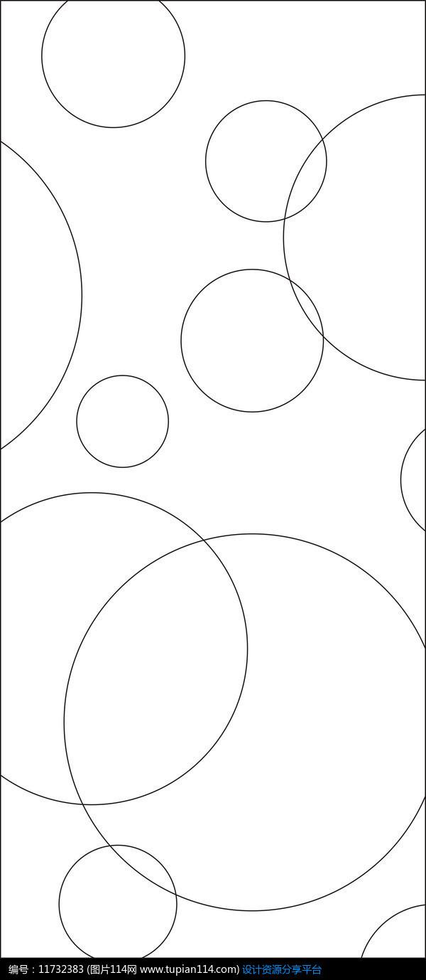 [原创] 浪漫圆圈雕刻图案