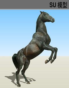 3D动物马SU模型