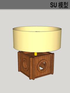 室内灯具SU模型