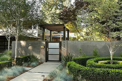 现代风格别墅院门意向图