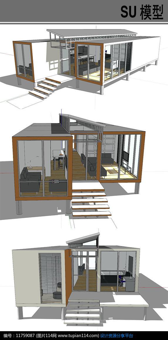 集装箱改造一层别墅