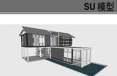 集装箱豪华住宅模型