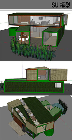 集装箱改造别墅建筑