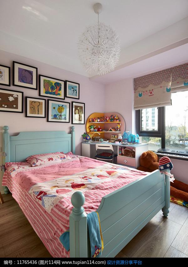 [原创] 混搭风格小房子卧室图片