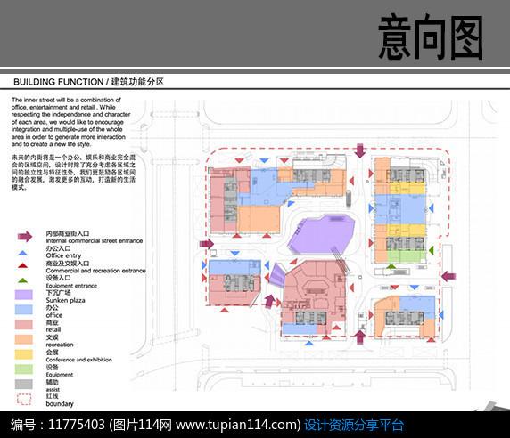 学校功能分区泡泡图_建筑功能分区分析图,建筑功能分区泡泡图,建筑空间构成分析_大 ...