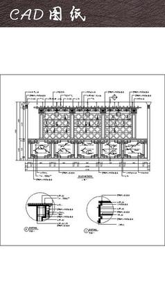 ?#39057;?#26381;务台CAD图纸
