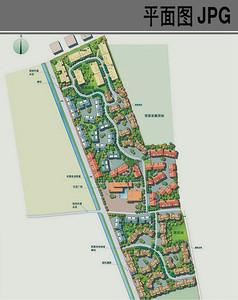 新农村规划平面图