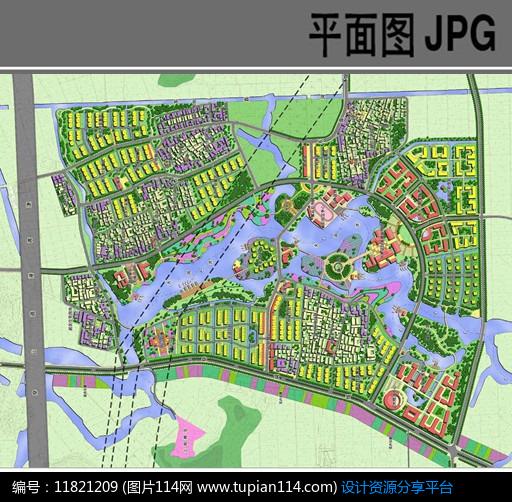 [原创] 乡村旅游规划设计方案平面图