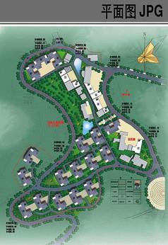 新农村安置房规划平面图