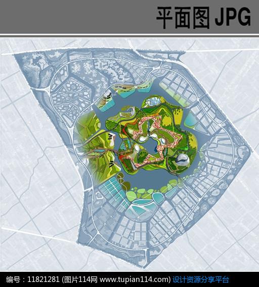 [原创] 生态园中心展区春季景观平面图