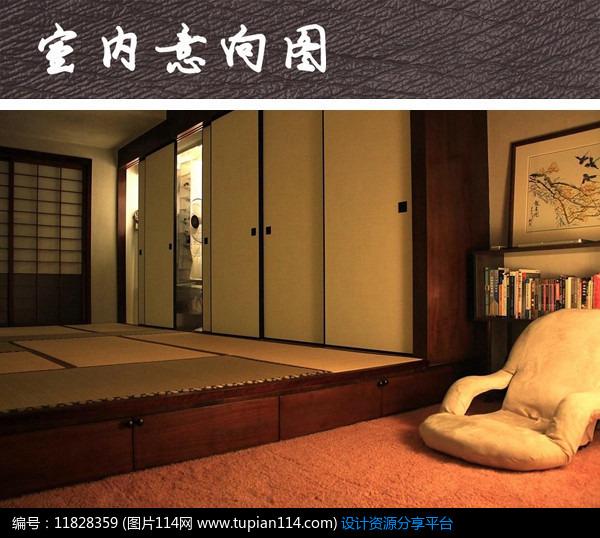 日式榻榻米卧室模型_日式榻榻米卧室,3d模型免费下载,3dmax模型,材质贴图
