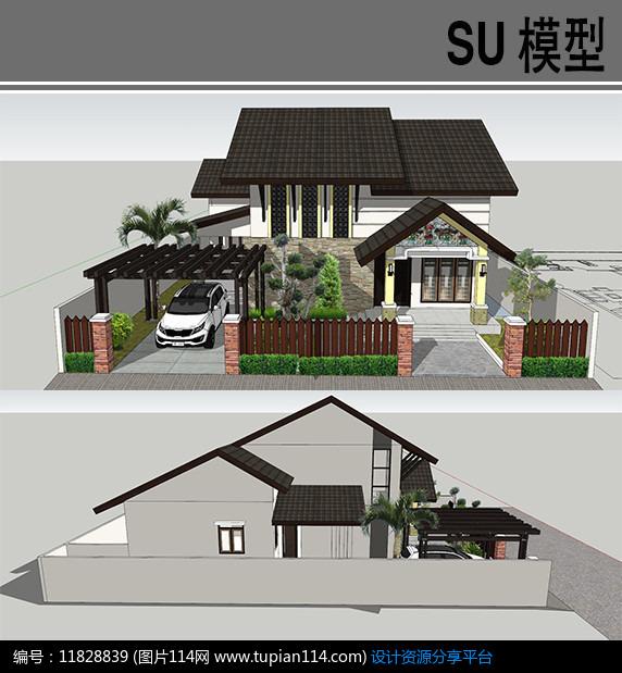 [原创] 新中式别墅图片