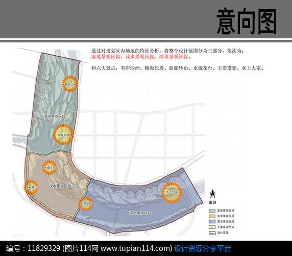 [原创] 滦河迁西县城段景观结构分析图