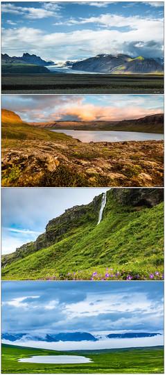 美丽壮阔的草原风光大自然美景