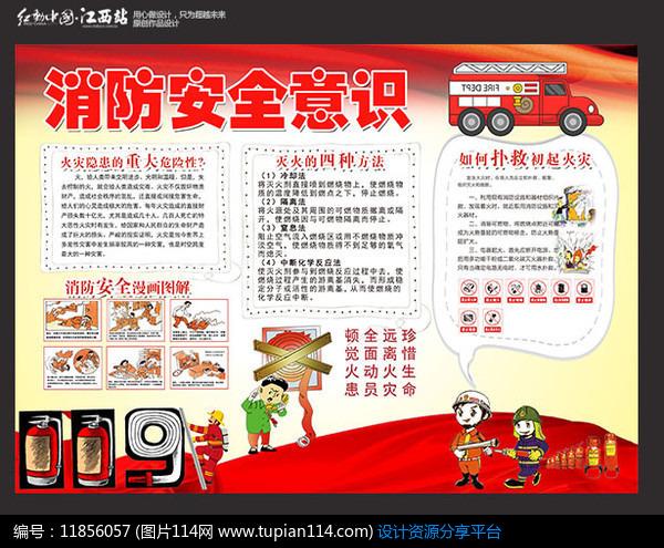 消防安全小报设计