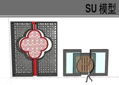 中式古典门