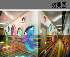 童趣走廊设计效果图