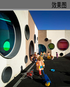 幼儿园儿童游戏空间