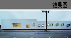 幼儿园建筑立面透视效果