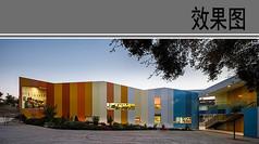 幼儿园建筑设计局部效果图