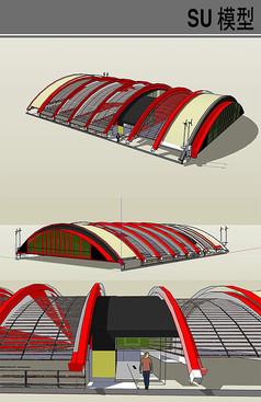 弧形温室大棚