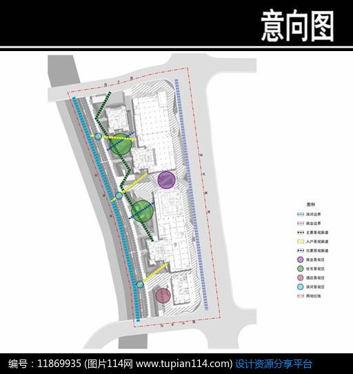 [原创] 某城四期景观结构分析图